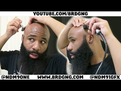 Shaving A Bald Head AGAINST The Grain | SUPER SMOOTH !!!