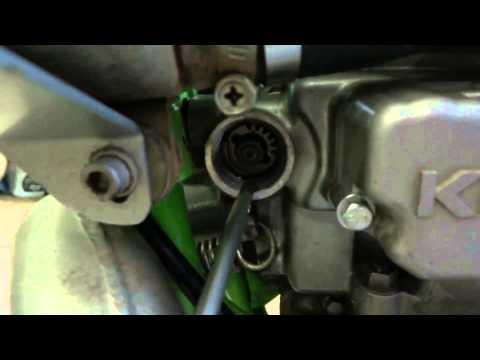 KDX 220 power valve KIPS test