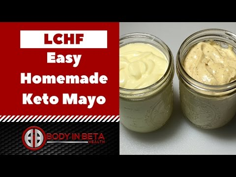 Quick Easy Keto Mayonnaise Recipe | Low Carb High Fat Friendly