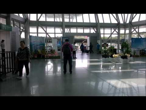 Malaysia Johor Bahru Senai Airport bus to city