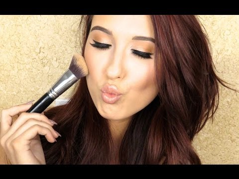 How To Cream Highlight & Contour   Jaclyn Hill