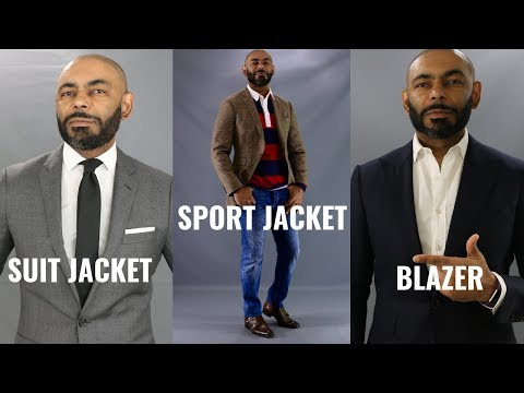 Suit Jacket, Blazer, Sport Coat, What's The Difference???