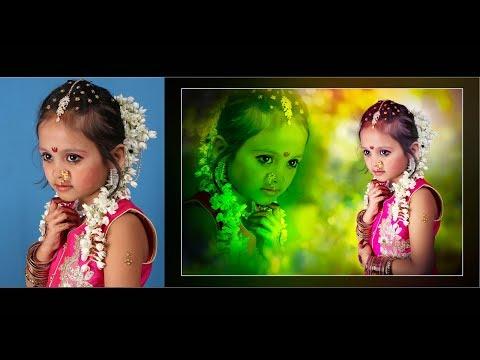 Photoshop cc tutorial cut out hair techniques in HIndi