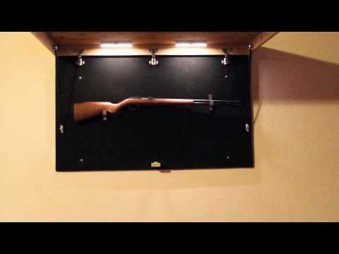 Secret Compartment Picture Frame Gun Safe Wooden Bed Frame With