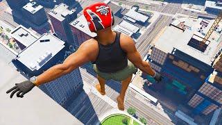 GTA 5 Jumping off Highest Buildings #13 - GTA V Funny Moments & Fails