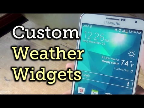 Make the AccuWeather Widget Transparent on Your Galaxy Note 3 [How-To]
