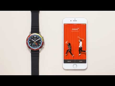 How To Set Up Your New Fossil Q Hybrid Smartwatch