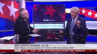 BBC News Channel at 20: News 24 start up (w/Tony Hall Interview)