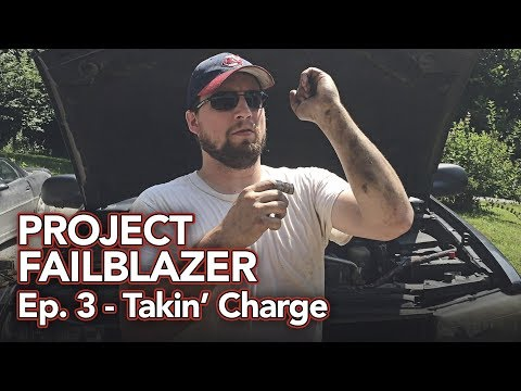 Project Failblazer Episode 3 - Rack & Pinion Install & A/C Charge!