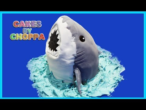 Shark Cake (how to)