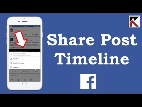 How To Share A Post I See On My Timeline Facebook App