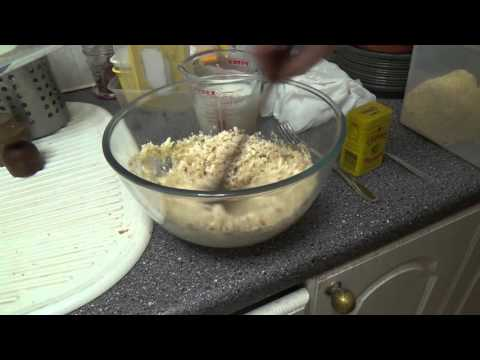 How to make a goats cheese pudding