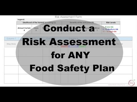 Learn how to Conduct a Risk Assessment for ANY Food Safety Plan | Introduction