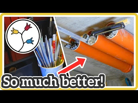 GARAGE STORAGE SOLUTIONS: MAKE THIS simple overhead storage solution