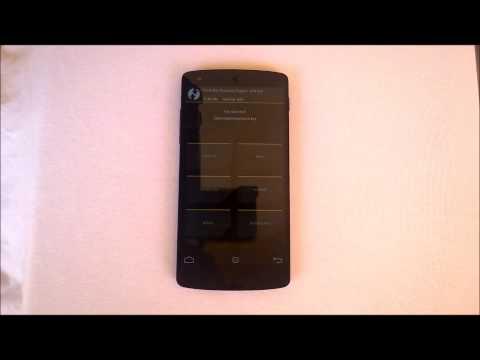 Pattern Lock Bypass Nexus 5