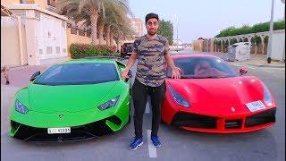 CHOOSING MY NEW CAR !!! ( LAMBORGHINI OR FERRARI )
