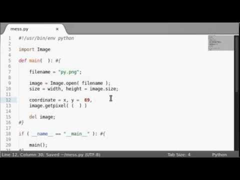 Python [PIL Image] 10 GetPixel