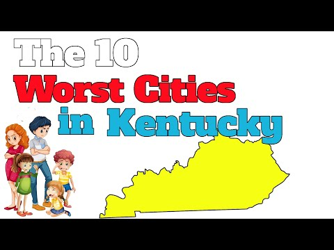 The 10 WORST CITIES in KENTUCKY Explained