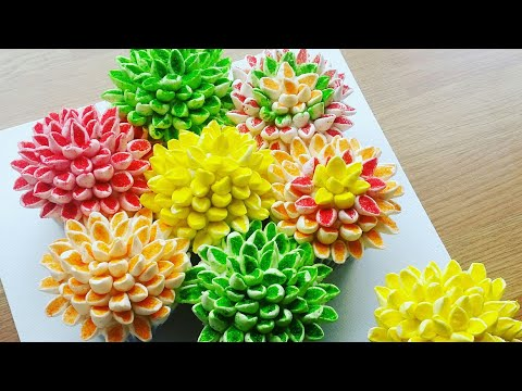 How to make a flower pull apart cupcake cake