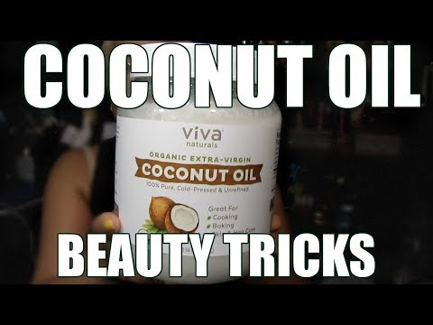 AMAZING BEAUTY TRICKS WITH COCONUT OIL