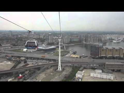 Royal Victoria to The O2 Greenwich - Cable Car