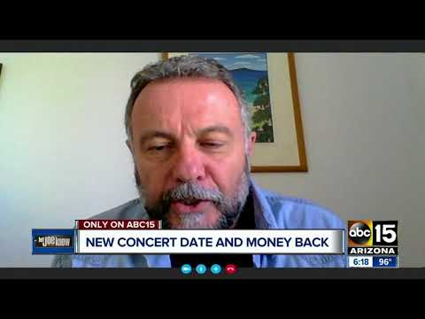 Bob Seger concert rescheduled in the Valley, fans still want their money back