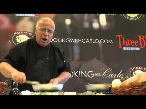 Cooking With Carlo 15 - Veal Scallopini Piccata