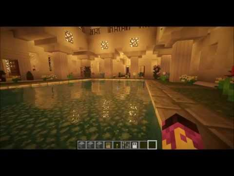 Minecraft roman villa hd test