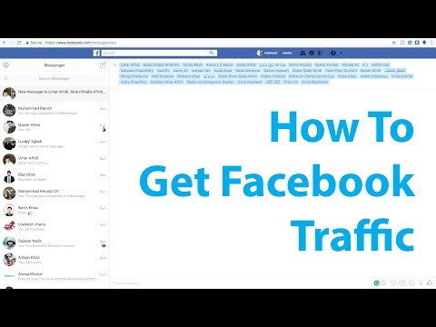 How to Get facebook Traffic for Blog or more views - Facebook Marketing