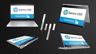 Видео обзор ноутбука-трансформера HP Spectre x360 13-w001ur (Y5V44EA)