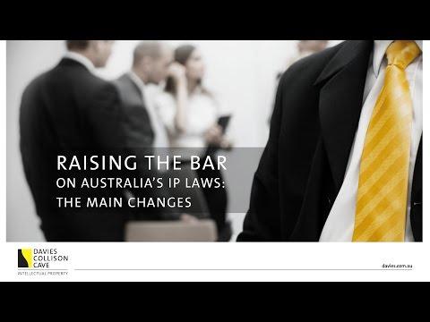 IP Changes in Australia
