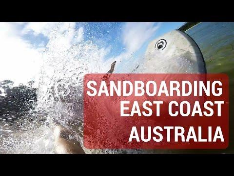 SANDBOARDING - EAST COAST AUSTRALIA