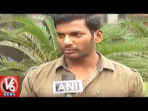 Actor Vishal Urge Central Govt To Reduce GST On Regional Films    V6 News
