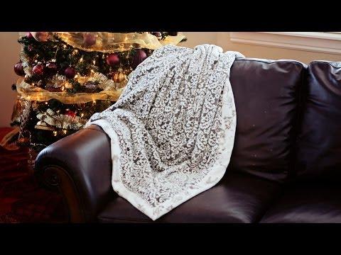 How to make a self binding blanket
