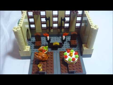 Harry Potter Lego Build 4842 Hogwarts
