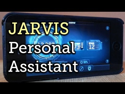 JARVIS for iPad & iPhone: Tony Stark's Personal Assistant from Iron Man [How-To]