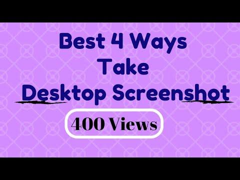 Best 4 ways take your desktop-laptop screenshot