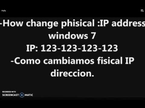 How to Change Your IP Address Easily