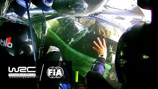WRC - Neste Rally Finland 2016: CRASH Eric Camilli