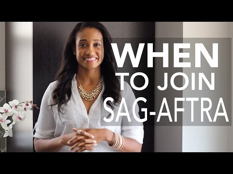 When Is The Right Time To Join SAG-AFTRA? | Acting Resource Guru