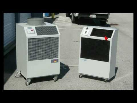 Water Cooled Portable Air conditioners--joe@joelarge.com