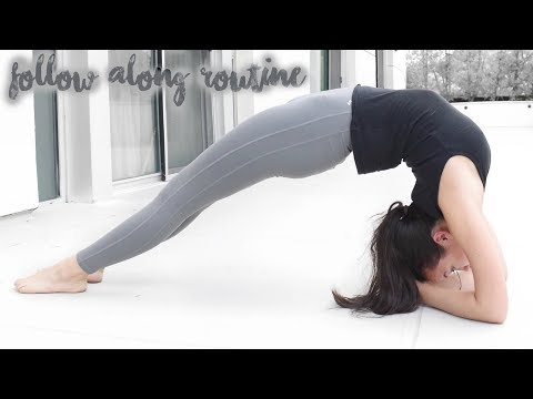 Intermediate Back flexibility stretches