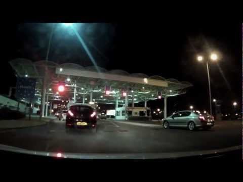 Eurotunnel Channel Crossing : UK to France at 170mph