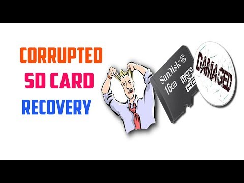 Recover Files From Corrupted SD Card or USB Pen Drive