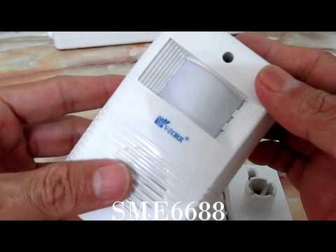 Motion Sensor Detection Shop or house wireless Doorbell