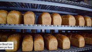 Automated bakery production line