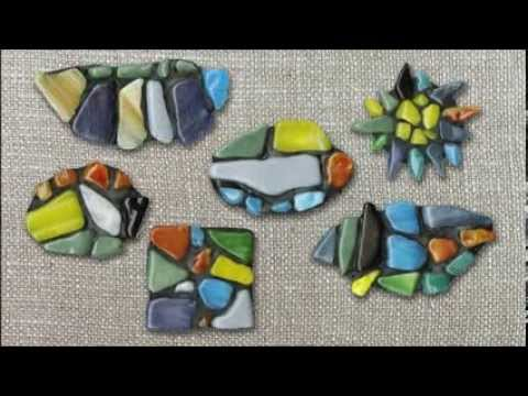 Tumbled Glass Pin - Project #178
