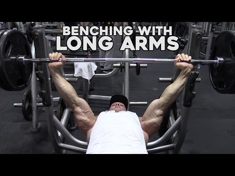 How to Bench Press with LONG Arms for Taller Guys