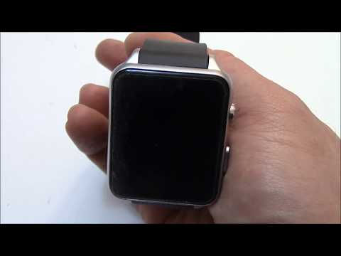 How To Install A SIM Card And Memory Card ON A GT88 Smartwatch Watch Phone
