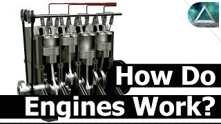 How Does an Engine Work, Fast and Furious Nitro (Internal Combustion Engines and How Cars Work)